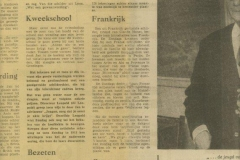 krant art.uit de Gooi en Eemlander 24-04-1971